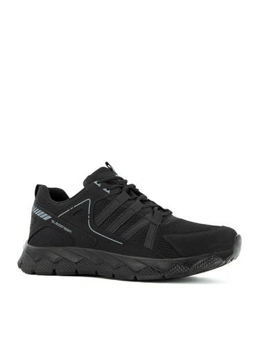 Slazenger Slazenger ALONE I Yürüyüş Erkek Ayakkabı  Siyah